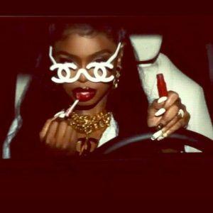 "Chanel Sample Logo ""Sunglasses"" Runway Model RARE"